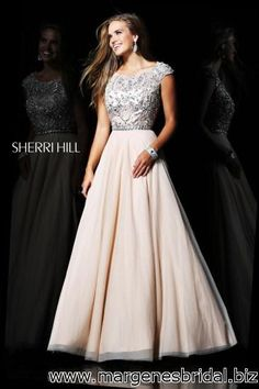 Sherri Hill 21053 Strapless Prom Dress :: Margene's Bridal