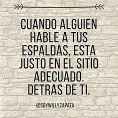 Así de simple! Tienen una bonita y gran calidad mora para hacerlol! Y los que te felicitan aún más! Spanish Inspirational Quotes, Spanish Quotes, Strong Quotes, Love Quotes, Funny Quotes, Positive Vibes, Positive Quotes, Proverbs Quotes, Motivational Phrases
