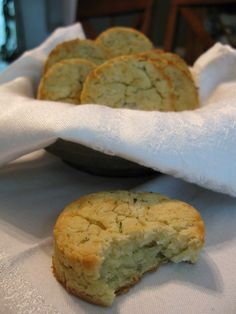 This biscuit recipe is based on Irish Fadge which is typically made by incorporating last nights leftover mashed potatoes into a biscuit dough for breakfast biscuits. I was inspired to try this after making mashed yucca one night for supper. If you ar Paleo Bread, Paleo Baking, Gluten Free Baking, Paleo Flour, Paleo Mom, How To Eat Paleo, Paleo Meals, Paleo Diet, Healthy Foods