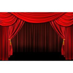 Free Shipping. Buy Wallmonkeys Multiple Red Layered Stage Theater Drape Background Peel and Stick Wall Decals Mural WM5922 (48 in W x 32 in H) at Walmart.com