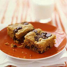 Pumpkin-Chocolate-Chip Squares