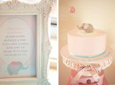 Baby Elephant Guest Dessert Feature