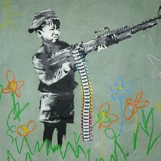 Can't we all just get along? 40 Powerful Photos Show Why Bansky Is the Spokesman of Our Generation