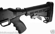 Mossberg 500/590/Maverick 88 12 GA Tactical Shotgun 6 Position Stock+Pistol Grip