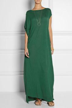 By Malene Birger | Nyta draped jersey maxi dress | NET-A-PORTER.COM