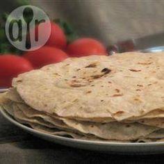 Tortillas integrales de harina @ allrecipes.com.mx