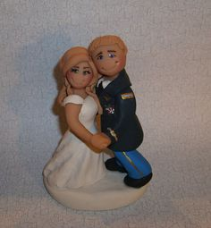Ginger Babies custom wedding cake toppers - First Dance