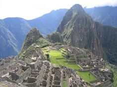Machu Picchu with Wayna Picchu in the background!