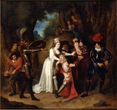 Story of Don Quixote - Don Quixote Defends Basilius, Who Marries Quiteria by Stratagem - Charles-Antoine Coypel IV - The Athenaeum
