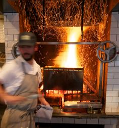 Ava Genes - Portland Pratt & Larson tile around the stove