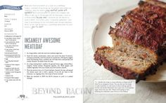 Insanely Awesome Meatloaf from Beyond Bacon by @Stacy of Paleo Parents