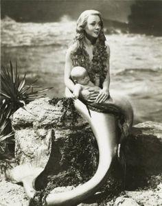 Mermaid and child