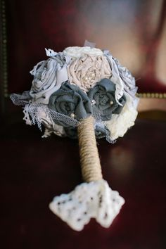 d.i.y. fabric bouquet