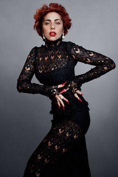 Lady Gaga Talks To Karl Lagerfeld - HarpersBAZAAR.com