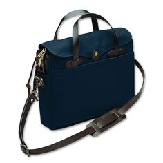 Original Briefcase in Navy by Filson - $248 Also available at Revolve Clothing: http://www.revolveclothing.com/filson-original-briefcase-in-navy/dp/FILS-MY19/?&