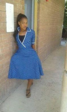 Glamorous Shweshwe Dresses 2017 / 2018 ⋆ fashiong4 Shweshwe Dresses, African Dress, African Fashion, Summer Time, Just In Case, At Least, Glamour, Summer Dresses, Continue Reading