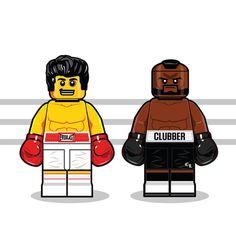 Iconic Movie Characters From The '80s Illustrated As LEGO Minifigs - DesignTAXI.com