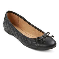 Women's Madeline Ballet Flats - Merona™ - Black