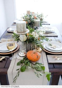 32 Best Thanksgiving Centerpieces Amp Tablescapes Images In