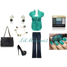 Outfit, created by lilmomma3 on Polyvore