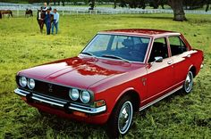 Toyota Corona images - Free pictures of Toyota Corona for your desktop. HD wallpaper for backgrounds Toyota Corona car tuning Toyota Corona and concept car Toyota Corona wallpapers. Classic Japanese Cars, Best Classic Cars, Corolla Hatchback, Corolla Ke30, Chevrolet Vega, Toyota Corona, Ford Pinto, Best Muscle Cars, New Tricks