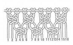 Alternating Square Knots