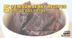 Wondering what to do with your venison this season? Check out our top five venison jerky recipes for some unique flavors that may not have crossed your mind.