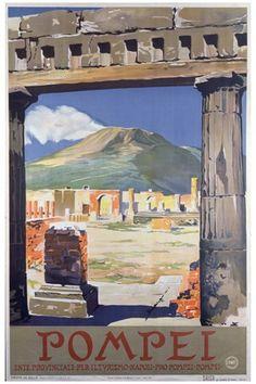 TITRE : Pompéi Italie
