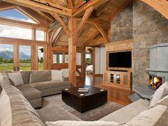 Luxury home in Jackson, Wyoming