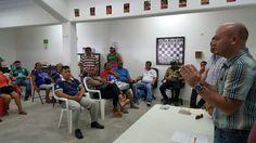 Reunión de trabajo entre COJUDEQ y entrenadores Zona Norte