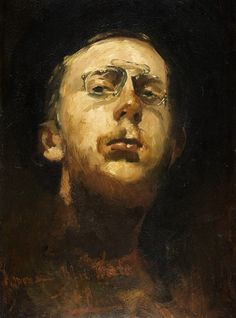 George Hendrik Breitner  - Self portrait, 1882 (1857-1923)