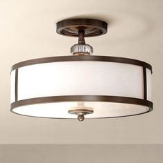 springfield drum shade semi flush ceiling light pinterest drum