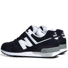 $129.00 New Balance 576 – Navy  #newbalance #shoes