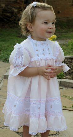 Top 20 Finalist: My Granddaughter's Heirloom Dress by Elaine Cline