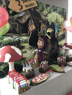 Masha and the bear birthday party