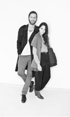 SLOE BERLIN FOUNDER: Art Director Matthias Last, Fashion Designer Antonia Siegmund