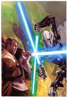 Obi Wan's Foe cover by Tommy Lee Edwards