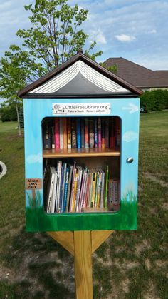Little Free Library at Park