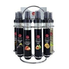 Farandole de vinaigre balsamique x6 sprays aux arômes variés