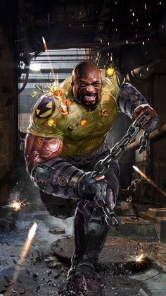 Luke Cage by John Gallagher #PowerMan #HeroForHire - Marvel Comics