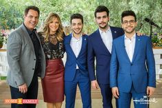While in Los Angeles, Il Volo had an opportunity to do some interviews and guest on TV. Home and Family The following is a video from Home and Family that shows Il Volo assisting in making Panzane…