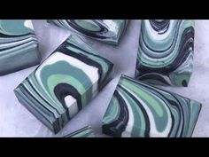 Clover & Aloe Spin Swirl Cold Process on Soap Queen TV - Soap Queen