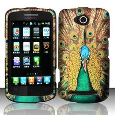 Luxurious look for your Coolpad 4G here. Let's enjoy royal peacock texture hard case right now!
