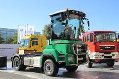 Born as a MAN truck, but converted by Maurer to a Jenz Cobra 'tractor'. Heavy Duty Trucks, Building Companies, European Countries, Semi Trucks, Eastern Europe, Tractors, Vehicles, Kalmar, Building Contractors