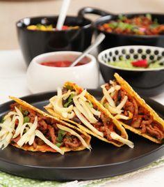 FREDAGSTACO MED GUACAMOLE OG MANGOSALSA | TRINES MATBLOGG Frisk, Tex Mex, Guacamole, Mango, Tacos, Mexican, Cooking, Ethnic Recipes, Food