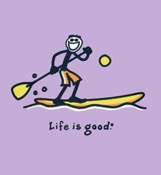 Paddle Boarding makes life good! <3