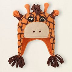 Giraffe Fleece Hat for Children (Med (12-24 mo)) by TCP, http://www.amazon.com/dp/B00B5U3NZI/ref=cm_sw_r_pi_dp_EDaerb1K5BV64