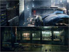Tom Clancy's The Division - Offizielle Artwork - Egal ob auf den höchsten Dächern oder in den unterirdischen U-Bahn Stationen - The Division lässt euch New York von einer ganz neuen Seite erkunden.