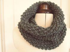 moss stitch snood - by hand london - free knitting pattern