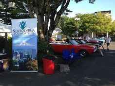"""Oregon Chapter's first ever """"Cars for A Cure"""" show and fundraiser! We had lots of cars, and lots of visitors, August 2014 in Vancouver, WA. Fundraising, Vancouver, Oregon, The Cure, Foundation, Cars, Autos, Car, Foundation Series"""